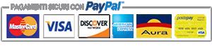 metodi pagamento postpay paypal visa mastercard